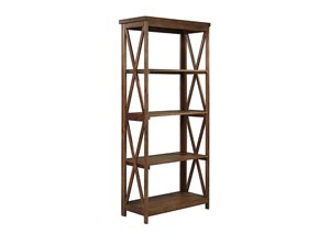 Minbreeze Medium Brown Large Bookcase,Signature Design by Ashley