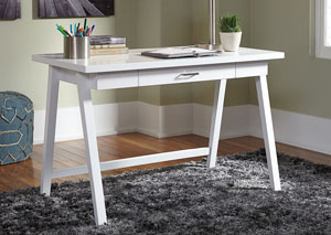 Langlor White Home Office Small Desk