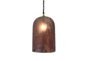Fabunni Brown Glass Pendant Light