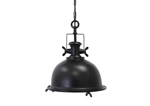 Fareeda Black Metal Pendant Light