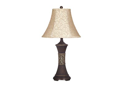 Bronze Mariana Resin Table Lamp (Set of 2)