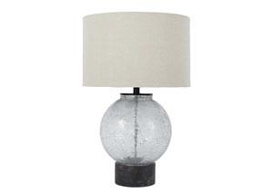 Shauni Transparent Glass Table Lamp
