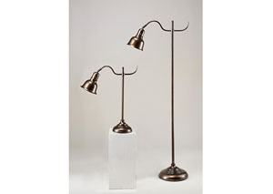 Bronze Palesa Metal Lamp (Set of 2)