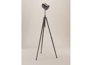 Black Nickel Quetzal Metal Floor Lamp