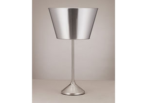 Silver Priyota Table Lamp