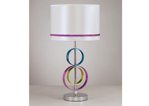 Multi Rianna Poly Table Lamp,Signature Design by Ashley