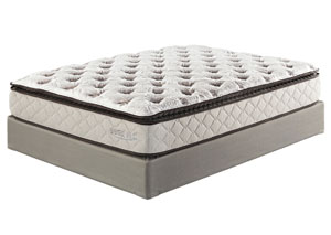 Mount Whitney Pillowtop Twin Mattress w/ Foundation