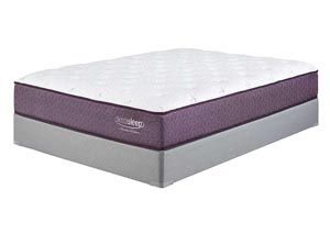 Limited Edition Plush Queen Mattress w/ Foundation,Sierra Sleep