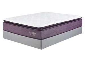 Limited Edition Pillow Top Queen Mattress w/ Foundation,Sierra Sleep