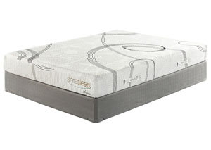 8 Series Memory Foam Twin Mattress w/ Foundation