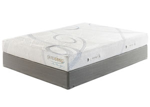 8 Series Gel Queen Mattress w/ Foundation