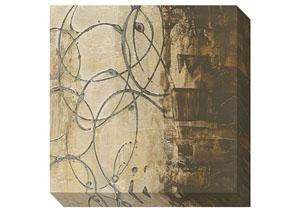 Barnet Beige/Brown/Gray Wall Art