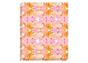 Jachai Orange/Pink/White Wall Art