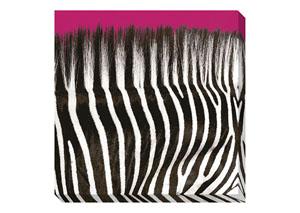 Jabbar Black/White/Hot Pink Wall Art