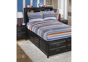 Fisher Stripe Full Top of Bed Set
