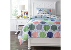 Jandi Multi Twin Comforter Set