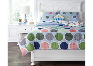 Jandi Multi Full Comforter Set