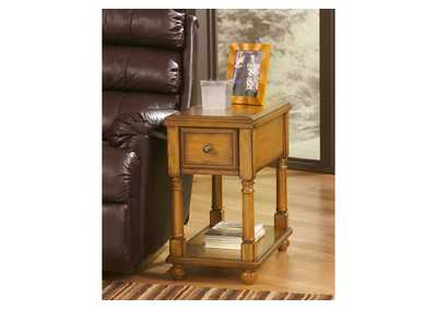 Brown Chair Side End Table,Signature Design by Ashley