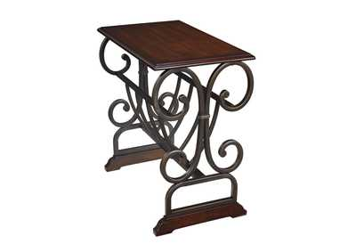 Braunsen Brown Chair Side End Table