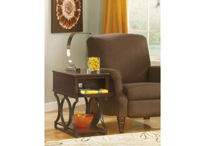 Bronze Chair Side End Table