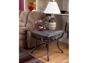 Antigo Square End Table,Signature Design by Ashley