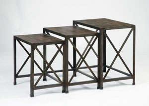 Rustic Nesting Tables,Signature Design by Ashley