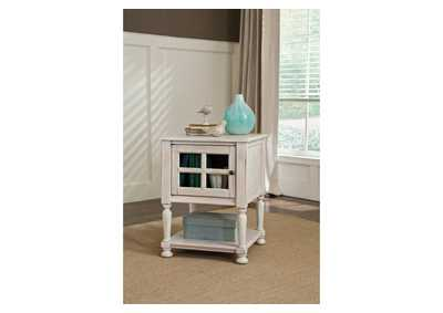 Cottage Accents Chair Side End Table,ABF Signature Design by Ashley