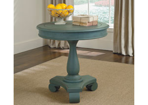 Cottage Accents Round Accent Table,ABF Signature Design by Ashley