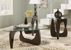 Blanca 3 Piece Occasional Table Set