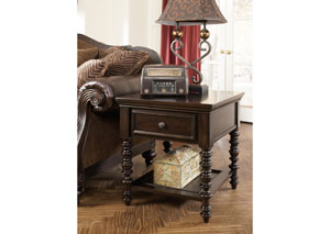 Key Town Rectangular End Table