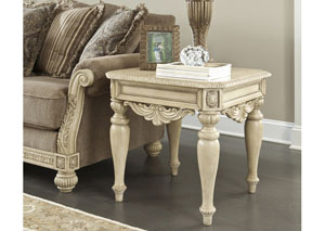 Ortanique Square End Table