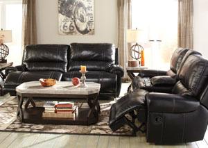 Paron Antique Reclining Sofa & Loveseat