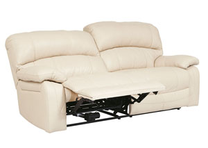 Damacio Cream 2 Seat Power Reclining Sofa
