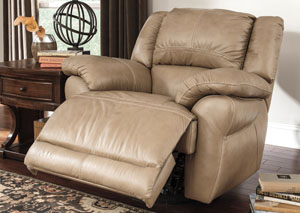 Lenoris Caramel Swivel Rocker Recliner,Signature Design by Ashley
