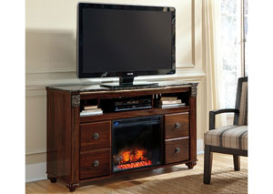 Gabriela Large TV Stand w/ LED Fireplace Insert,Signature Design by Ashley