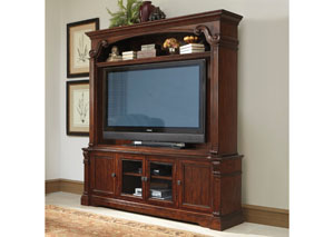 Alymere Extra Large TV Stand w/ Hutch