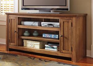 Macibery Grayish Brown Large TV Stand