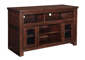 Furniture World Nw Harpan Reddish Brown Tv Stand
