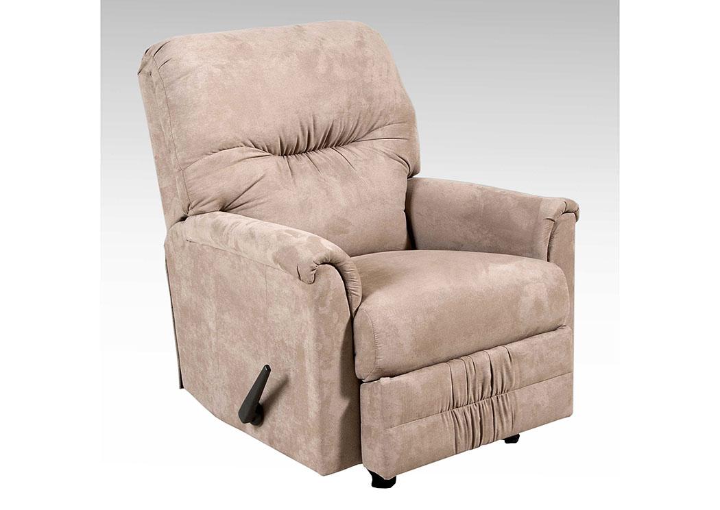 atlantic bedding and furniture sienna mocha rocker recliner