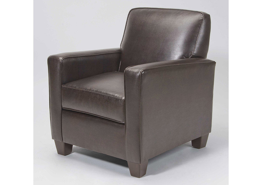 Atlantic Bedding And Furniture Greenville SC Marshall Walnut Accent Chair