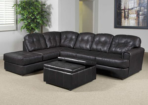 Eastern Charcoal Sectional,ABF Serta Hughes