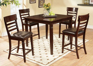 May Pub Table w/ 4 Chairs,ABF Lifestyle