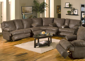 Ranger Chocolate Sectional