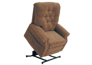 Patriot Autumn Power Lift Full Lay-Out Recliner,Catnapper