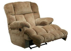 Cloud 12 Camel Power Chaise Recliner w/