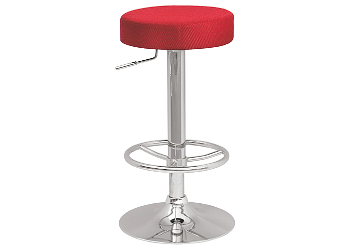Beverly Hills Furniture Bronx Ny Red Backless Pneumatic Gas Lift Adjustable Stool