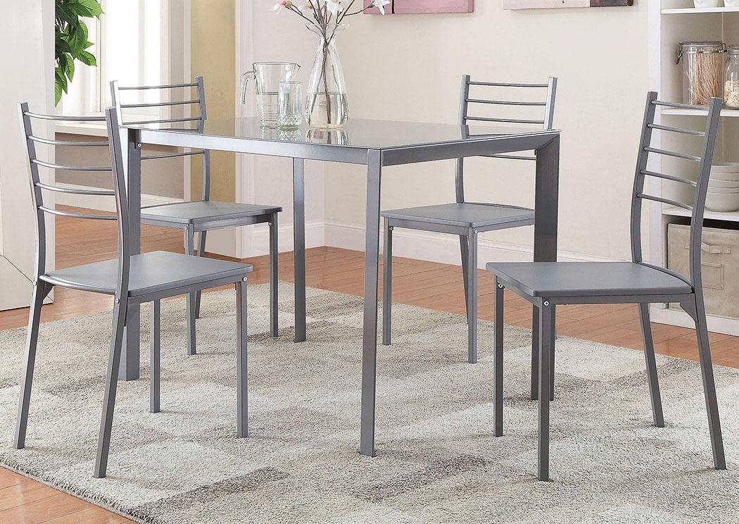 Grey 5 Pc SetCoaster Furniture