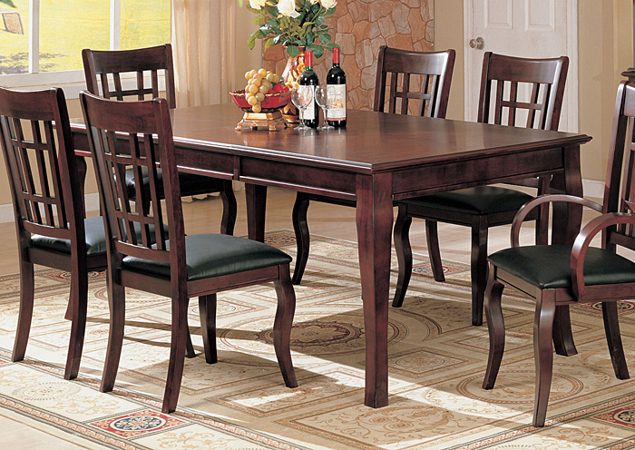 Dreamworld Furniture Bronx Ny Newhouse Cherry Dining Table