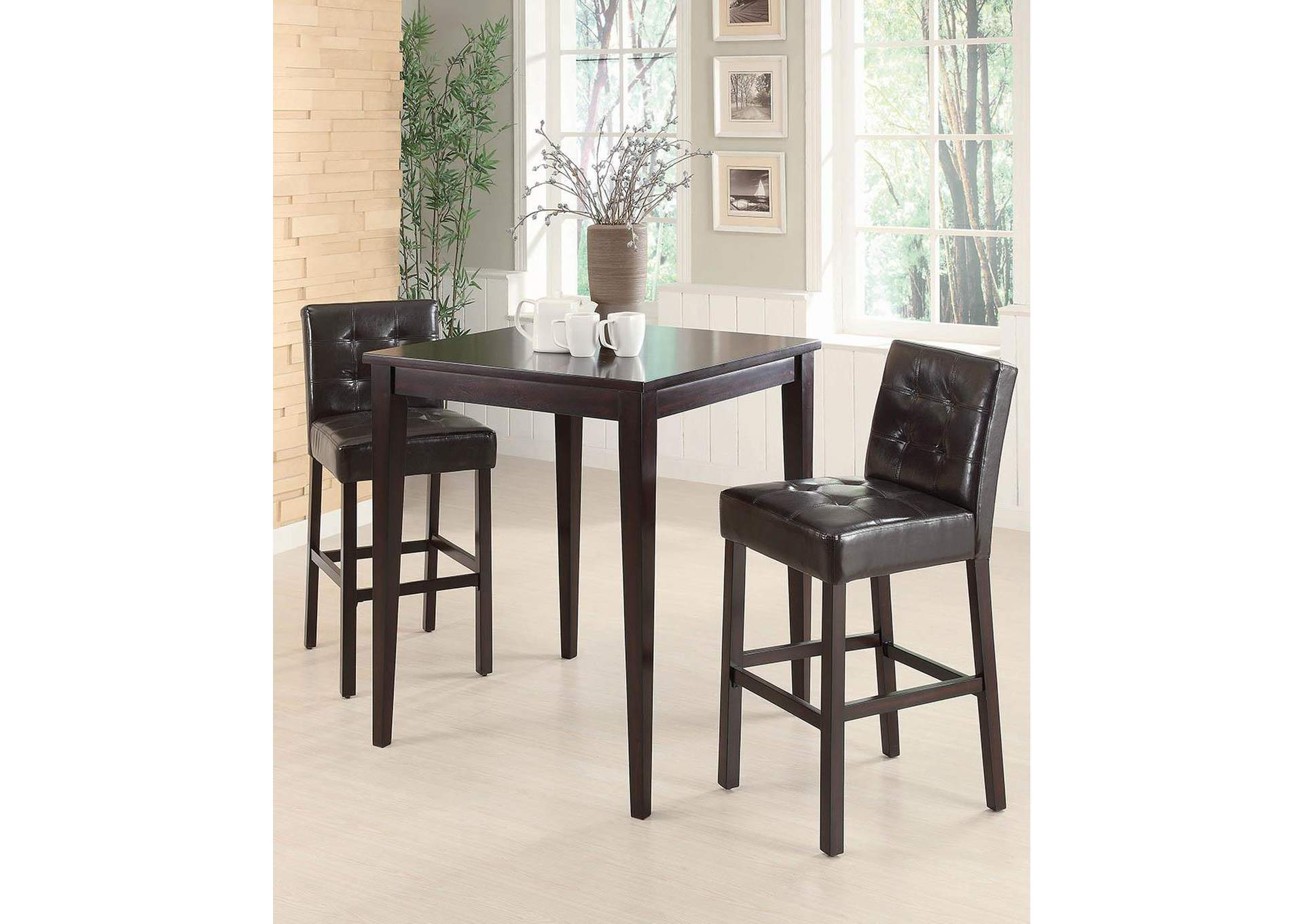 Davis Home Furniture Asheville Nc Cappuccino Cappuccino Bar Chair Set Of 2