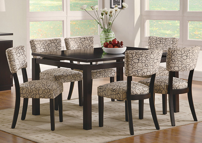 Furniture Palace Libby Cappuccino Dining Table
